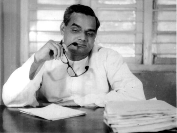 BJP Leader Atal Behari Vajpayee. Express archive photo
